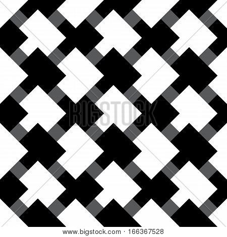 Hypnotic Fascinating Abstract Image. Vector Illustration. EPS10