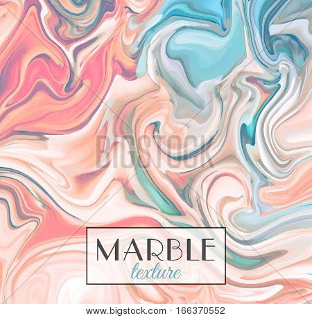 Marbling. Orange Marble texture. Vector abstract colorful background. Paint splash. Colorful fluid. Vector illustration eps10
