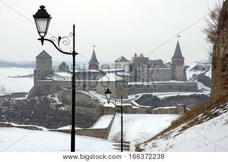 Old Castle In Kamenets-podolsky Ukraine