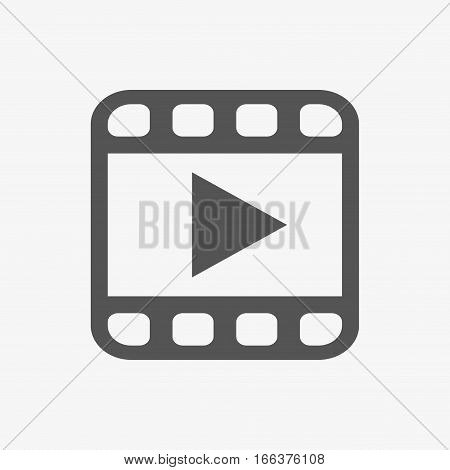 video icon stock vector illustration flat design