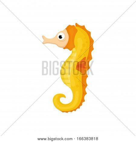 Sea horse animal icon vector illustration graphic design