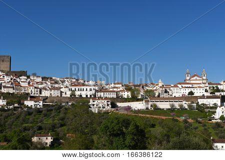 village of Castelo de Vite Alentejo region Portugal