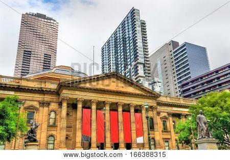 The State Library of Victoria in Melbourne, Australia