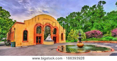 Conservatory of Fitzroy Gardens in Melbourne - Australia, Victoria
