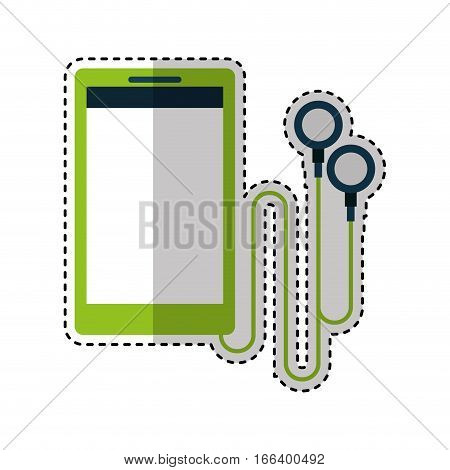 music player mp3 gadget vector illustration design