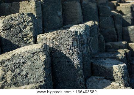 Basalt Columns In Phu Yen, Vietnam