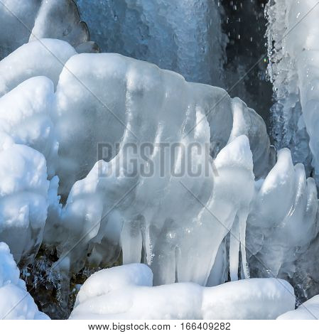 Picture Of Ice Forms From