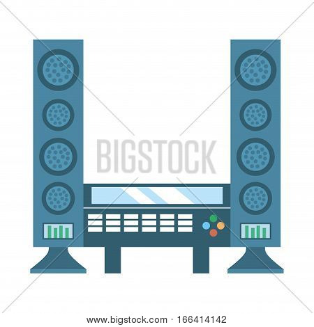 home theater cinema music vector illustration eps 10