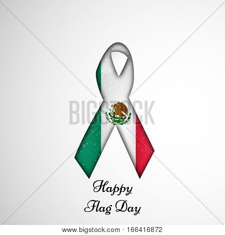 Illustration of Mexico Flag for Mexico Independence Day