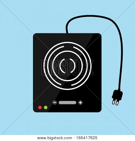 Electric stove  vector design , Appliances in the kitchen