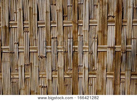 Bamboo Pattern Basketry Handmade