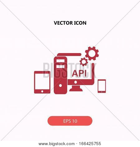 API application programming interface Icon, API application programming interface Icon Eps10, API application programming interface Icon Vector, API application programming interface Icon Eps, API application programming interface Icon Jpg, API applicatio