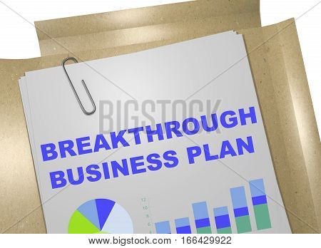 Breakthrough Business Plan - Business Concept