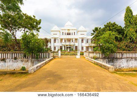 Jaffna Public Library Driveway Entrance H