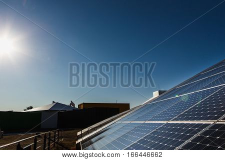 Solar panels, alternative sources of electricity, advanced technology