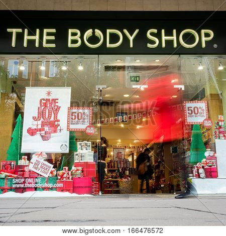 The Body Shop, Oxford Street, London