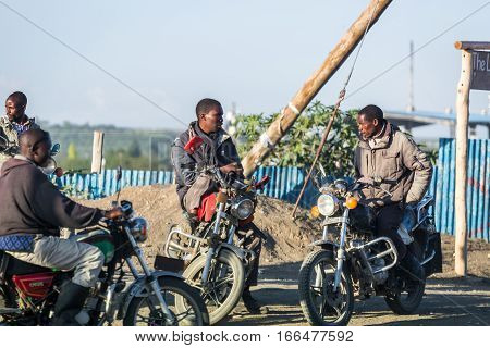 Motorcycle Taxi Is Called Piki Piki.