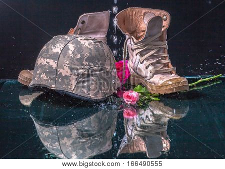 Valentine Day For Solder And Army