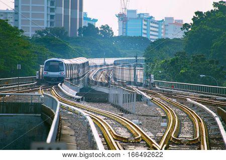 Metro Train Singapore