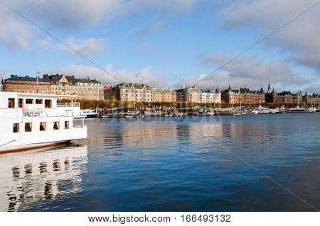Picturesque Autumn Review Stockholm