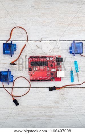 servo circuit board components and assemblies for the robot internet of things;