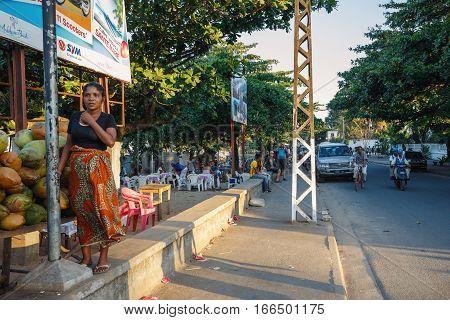Street Life In Toamasina City, Madagascar