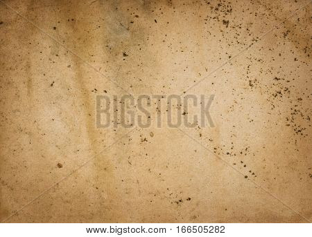 Grunge and stained paper texture for the design.
