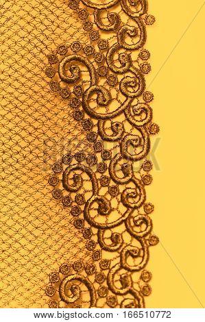 Decorative Silver Lace