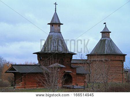 Museum Of Wooden Architecture In Former Royal Estate Kolomenskoye