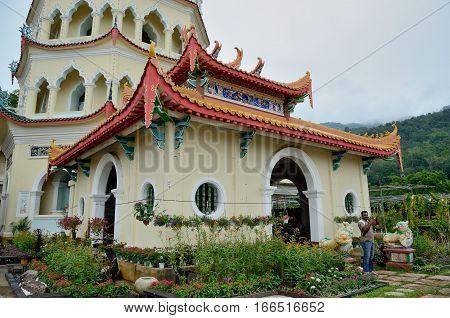 George Town/Malaysia - September 2012: Kek Lok Si temple in George Town Penang Malaysia