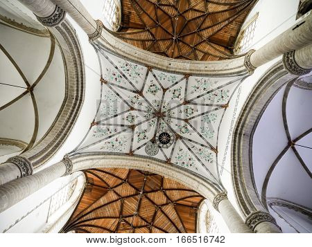 Grote Kerk (great Church) Ceiling Detail, Haarlem, Netherlands