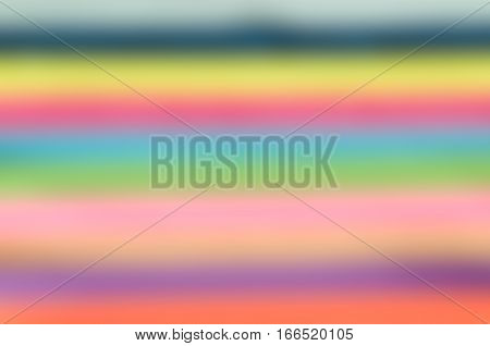 abstract blur background of multicoloured stripes for rainbow pattern