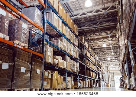 Warehouse logistics is important in modern life
