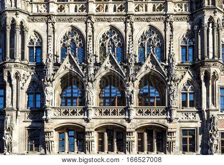 Facade Of New Munich Town
