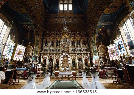 Catholic Church Or Cathedral, Religion Concept, Wedding Traditional Ceremony