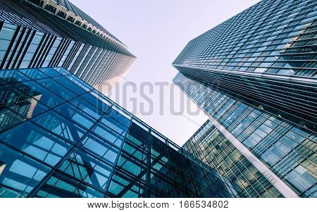 London Docklands Skyscrapers