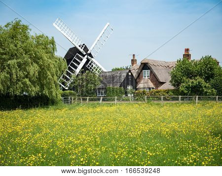 Bourn Windmill, Cambridgeshire, England