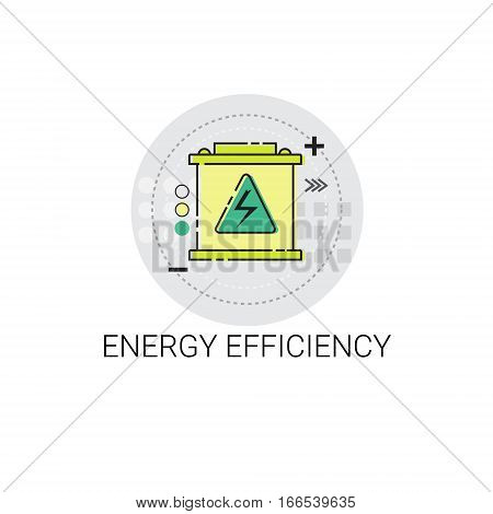 Energy Efficiency Power Save Invention Vector Illustration