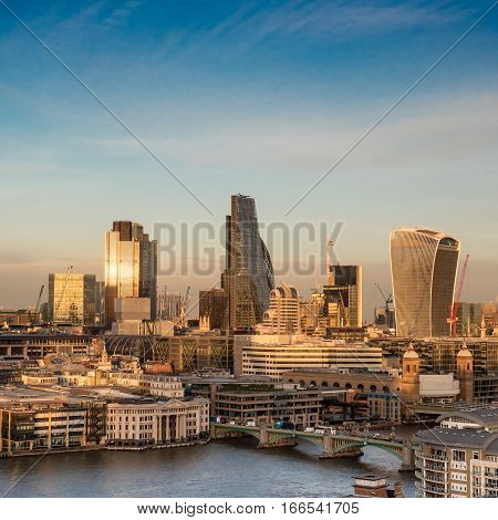 City Of London Skyscrapers