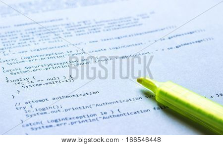 Programming Language Java On Paper