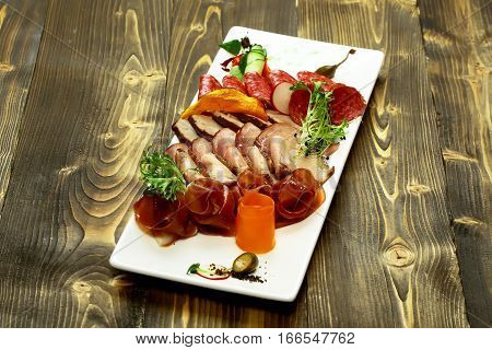 Cold Cuts Or Meat Platter