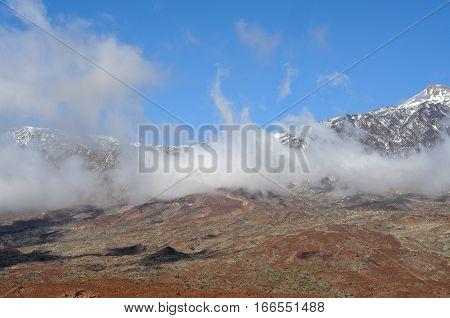 Volcano Pico del Teide El Teide National Park Tenerife
