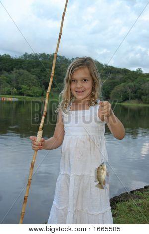 Girl Fishing V3