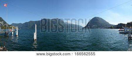 Lake Of Lugano, Switzerland