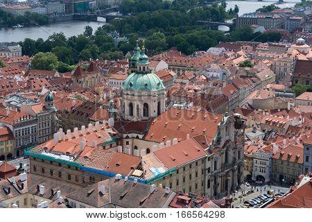Church Of Saint Nicola In Prague, Czech Republic