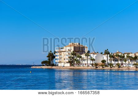 La Manga (La Manga del Mar Menor) is a seaside spit in the Region of Murcia Spain.