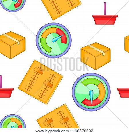 Internet setup pattern. Cartoon illustration of internet setup vector pattern for web