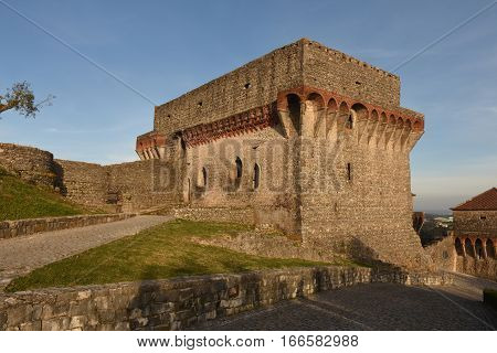 View of the Castle of Ourem; Beiras region; Portugal