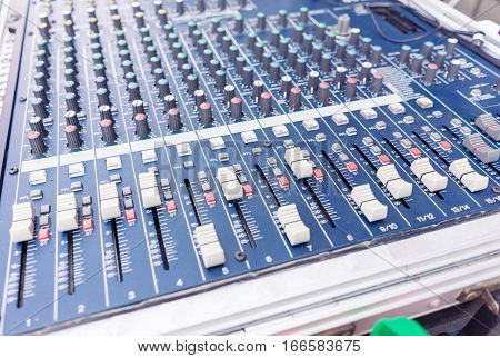 Audio sound mixer creative style color filter