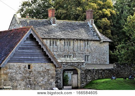 Medieval English Castle Stables, England United Kingdom